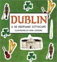 Dublin A 3D Keepsake Cityscape