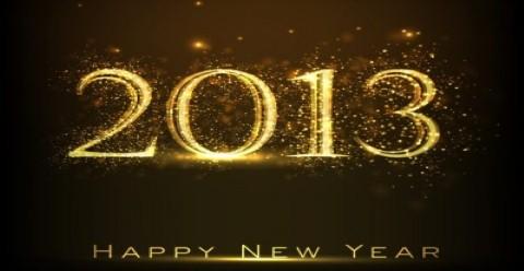 Happy new 2013