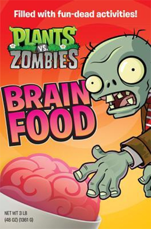 Plants vs. Zombies: Brain Food by Brandon T. Snider