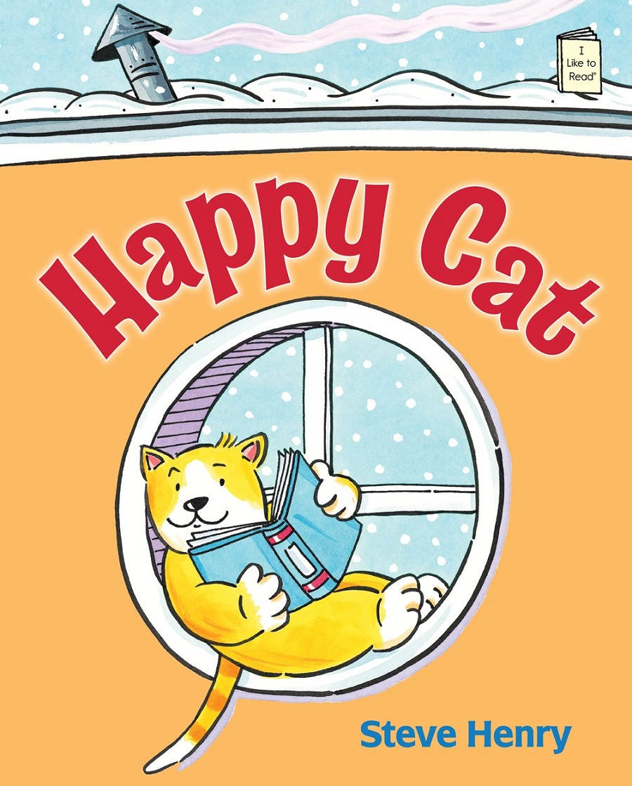 Happy Cat (I Like to Read) by Steve Henry
