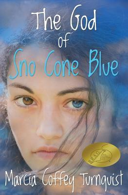 The God of Sno Cone Blue by Marcia Coffey Turnquist