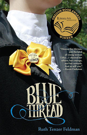 Blue Thread by Ruth Tenzer Feldman