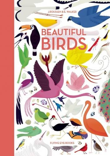 Beautiful Birds by Jean Roussen, illustrated by Emmanuelle Walker