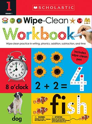 Wipe Clean Workbooks: Grade 1 by Scholastic