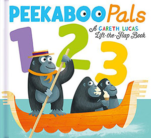 Peekaboo Pals 123 by Becky Davies, illustrated by Gareth Lucas