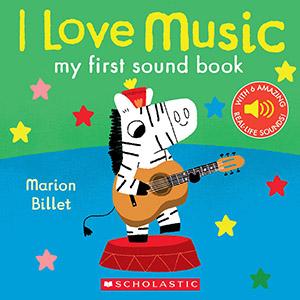 I Love Music by Marion Billet