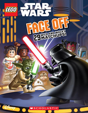 Face Off (LEGO Star Wars) by Arie Kaplan, illustrated by Dave White